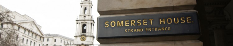 L'entrée du Somerset House