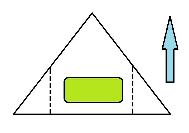 Pliage-de-nems-sur-galette-triangulaire