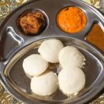 Petit déjeuner typique de l'Inde du Sud