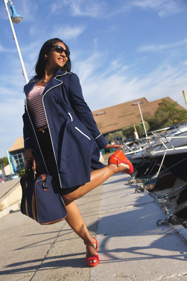 3 façons de porter la marinière #1 : le style rétro chic