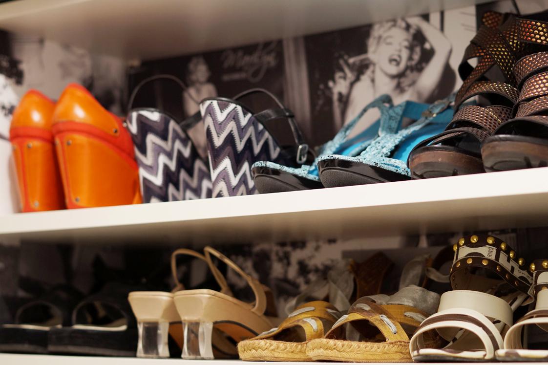 rangement chaussures hema
