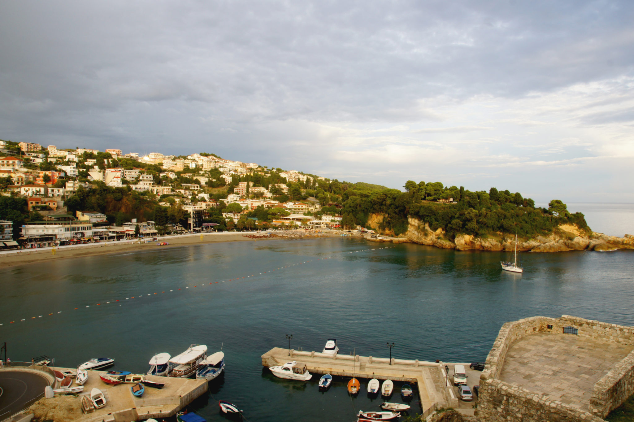 Hema_Montenegro_la_cote_adriatique_ulcinj_blog_voyage_travel_sunset_view_landscape2