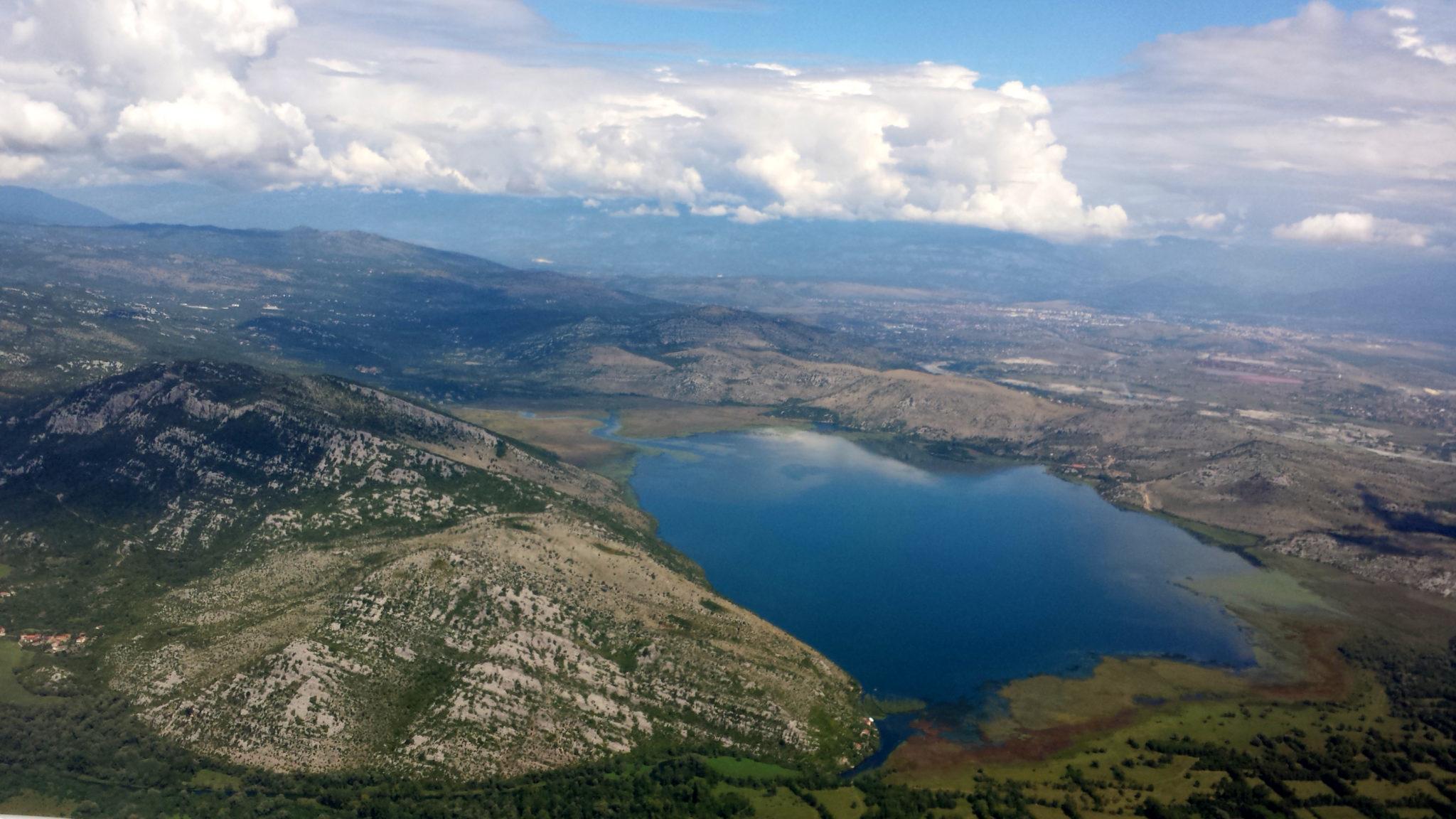Montenegro, vues du ciel