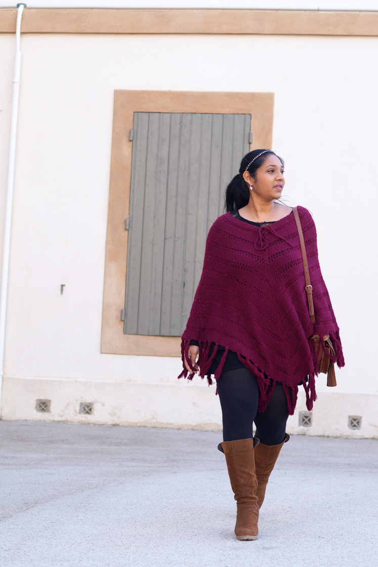 Look_blog_mode_poncho_burgundy_bottes_camel_daim_outfit_7