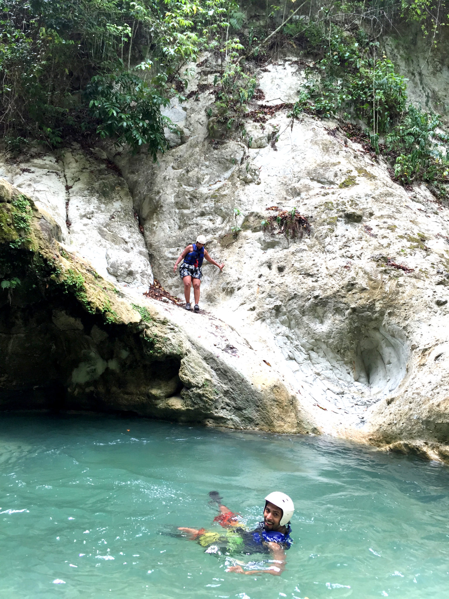 Republique_dominicaine_damajagua_canyoning_preparation_saut