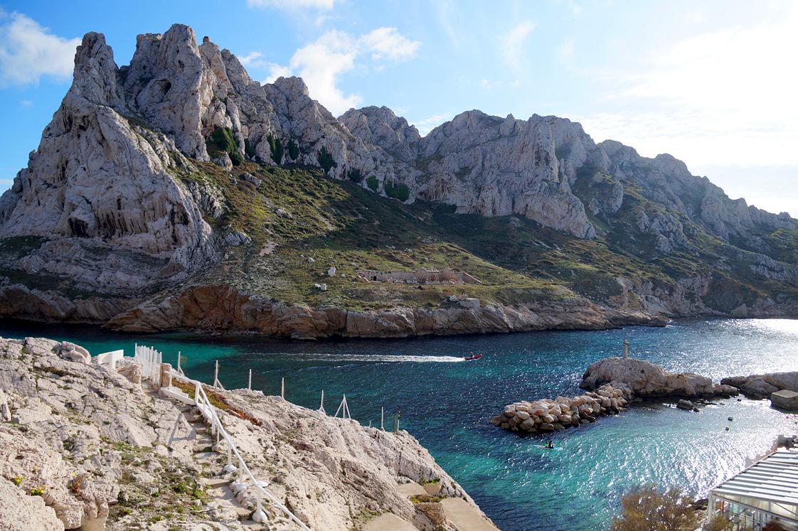 Marseille : Les goudes aux portes des calanques
