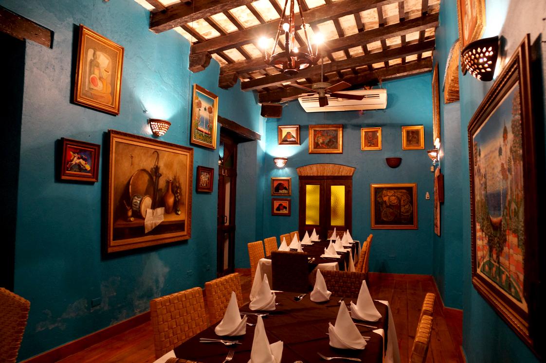 Republique_dominicaine_mes_bonnes_adresses_santo_domingo_restaurant_meson_de_bari_etage