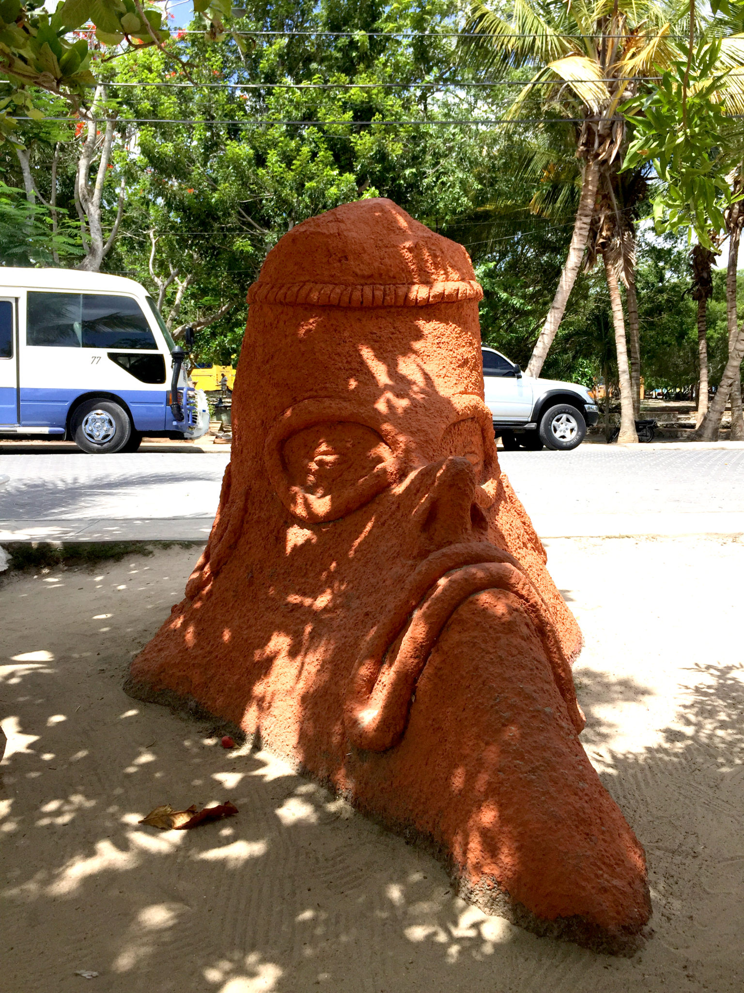 Republique_dominicaine_roadtrip_bayahibe_sculpture_tainos
