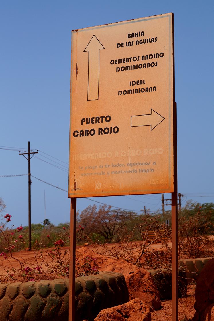 Republique_dominicaine_roadtrip_voyage_route_rouge_cabo_rojo_panneau