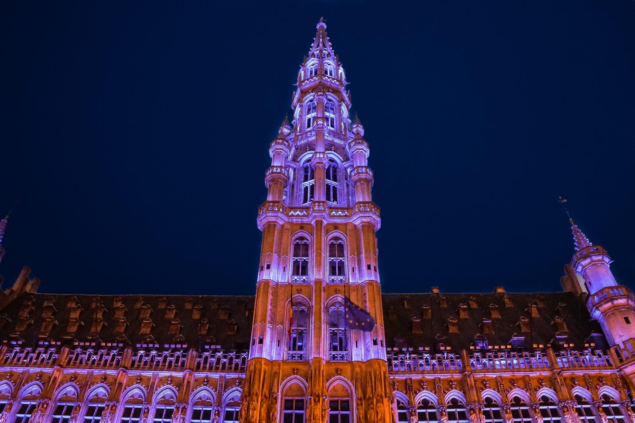 Hema_Bruxelles_Mairie_Nuit