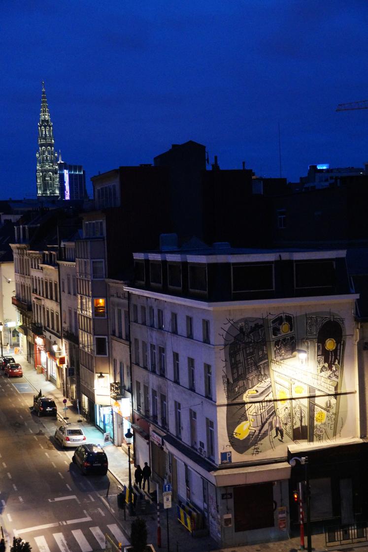 Hema_Bruxelles_Rue_bande_dessinée-mur