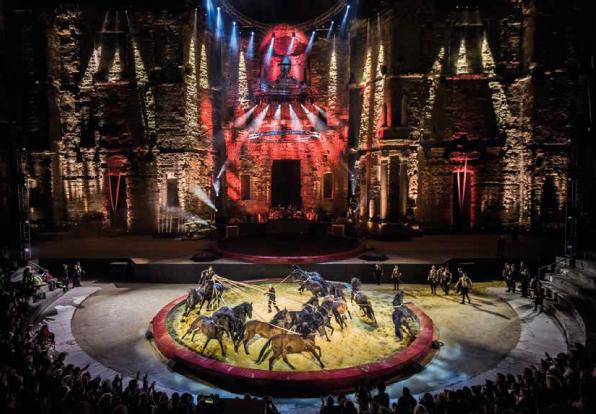 Les Equestriades d'Alexis Gruss au théâtre antique d'Orange (concours inside)