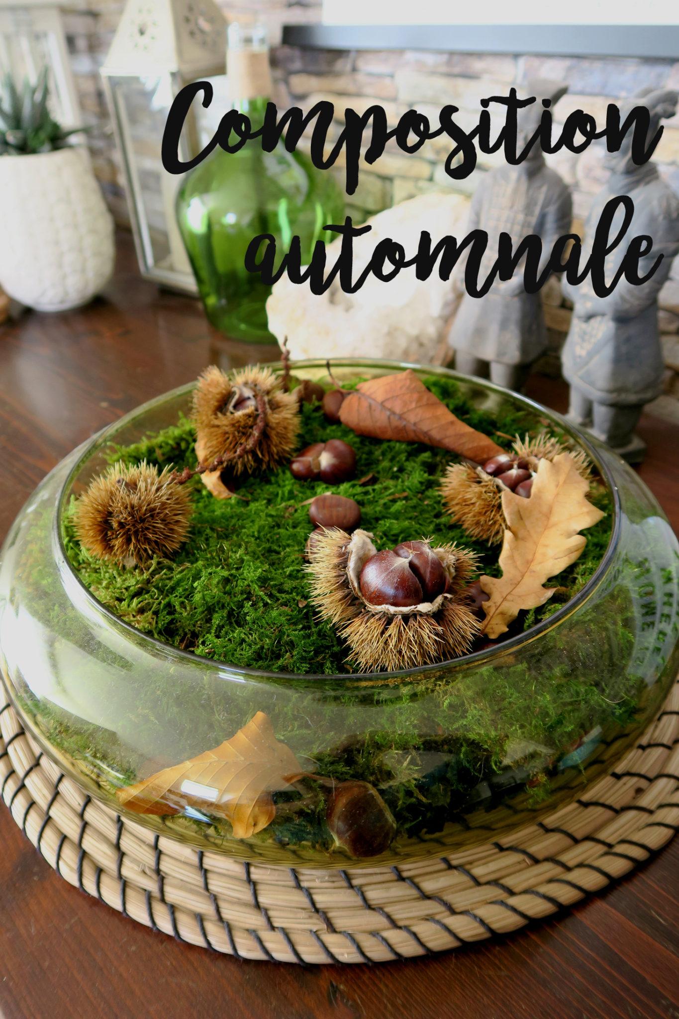 H ma pose ses valises blog mode voyages cuisine - Composition florale automne ...
