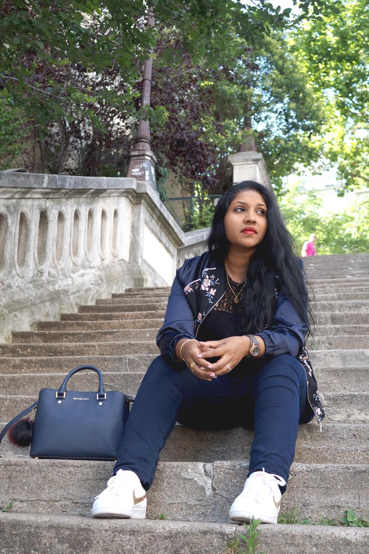 Hema_look_paris_blog_mode_bomber_fleuri_street