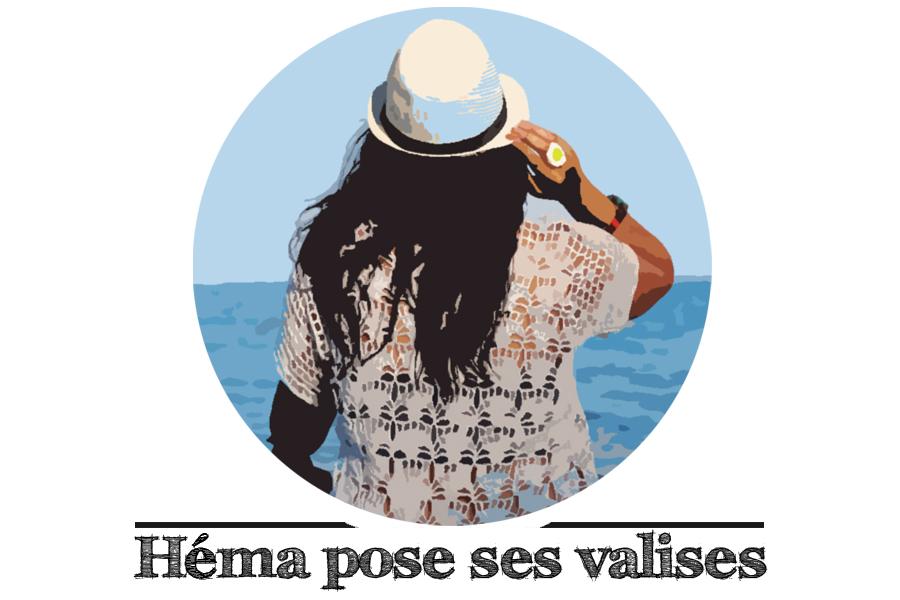 Logo blog Héma pose ses valises