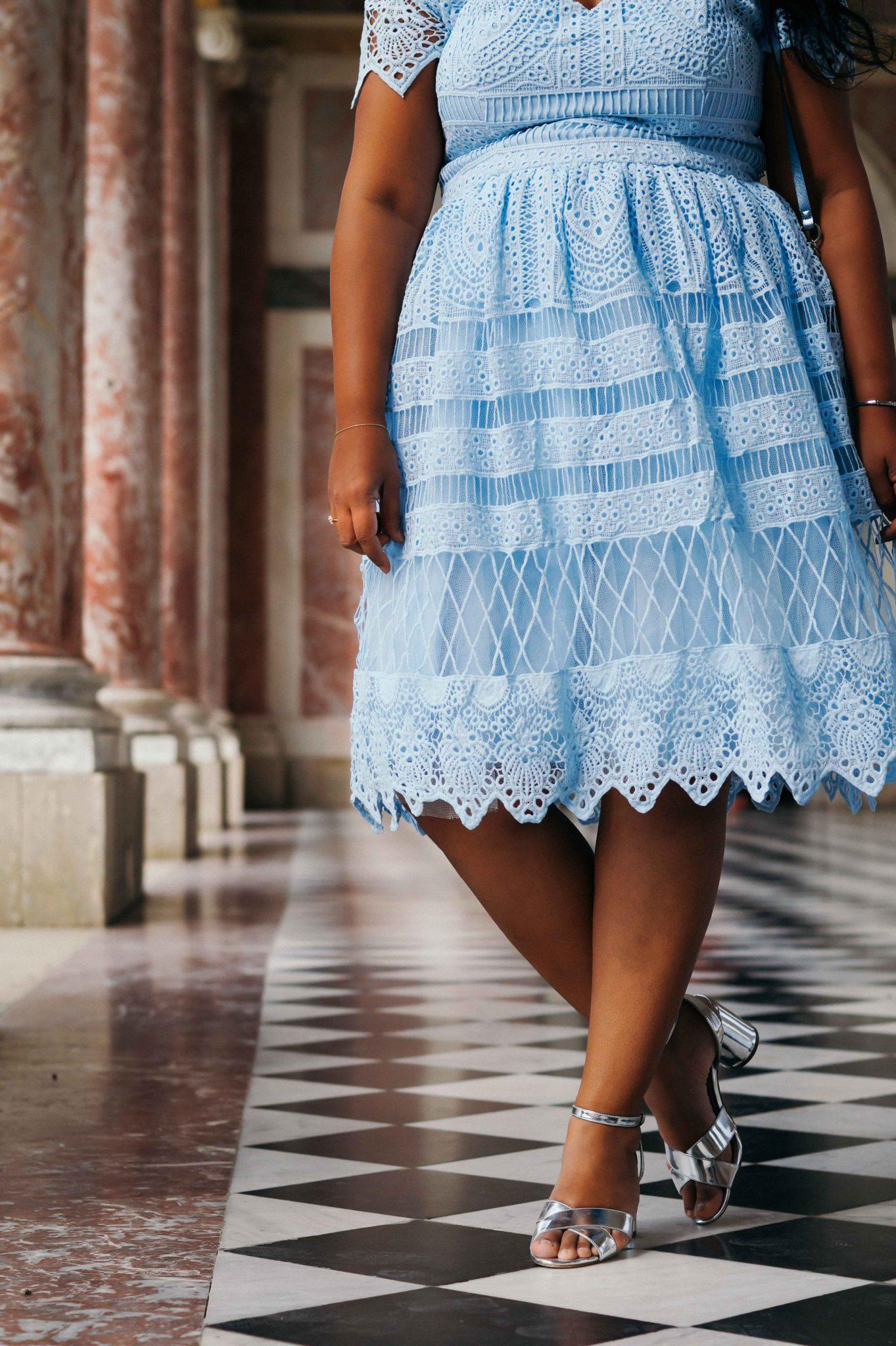 Détails de la robe Aline de Chi Chi London
