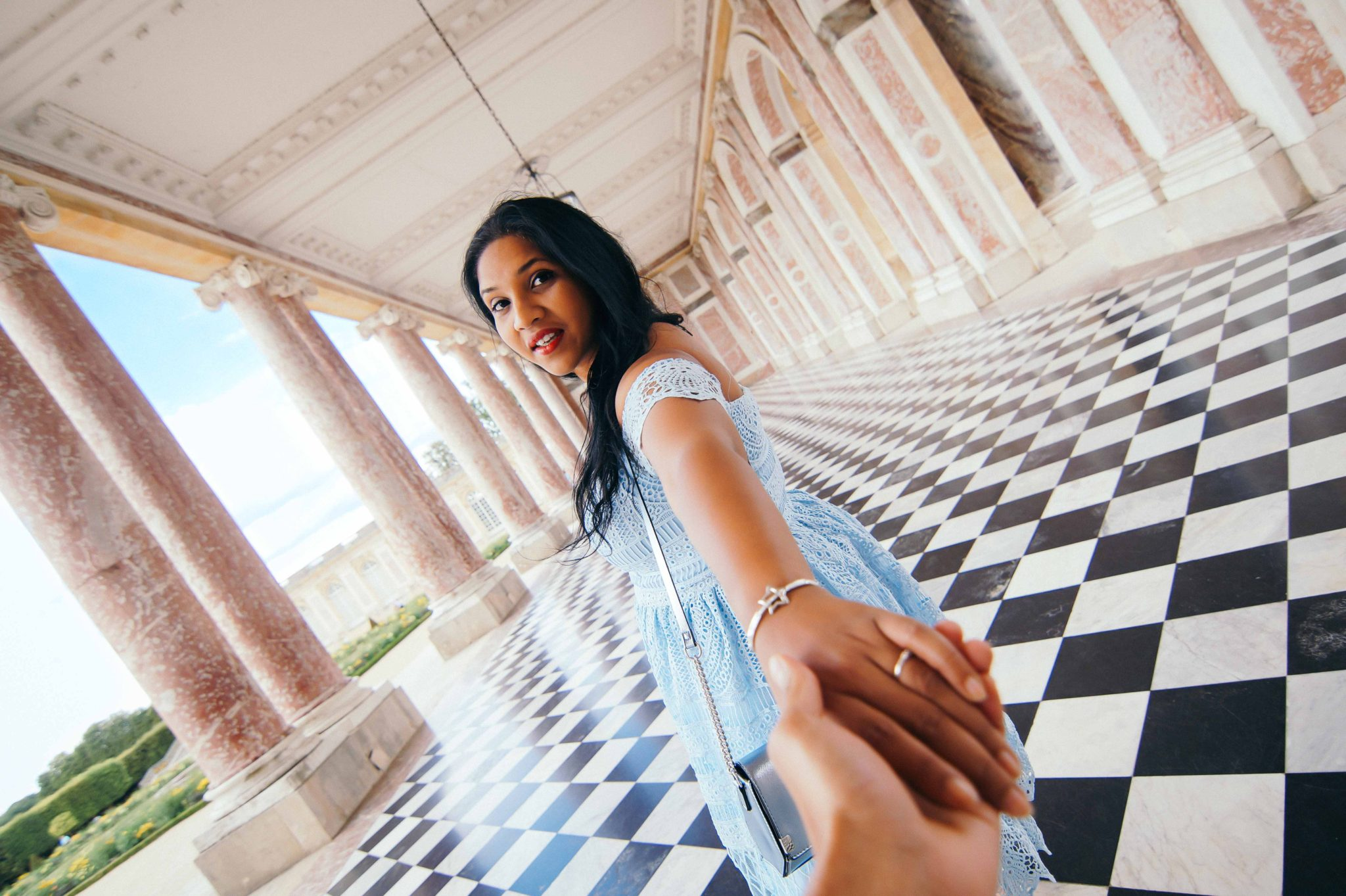 Take me to Trianon at Versailles