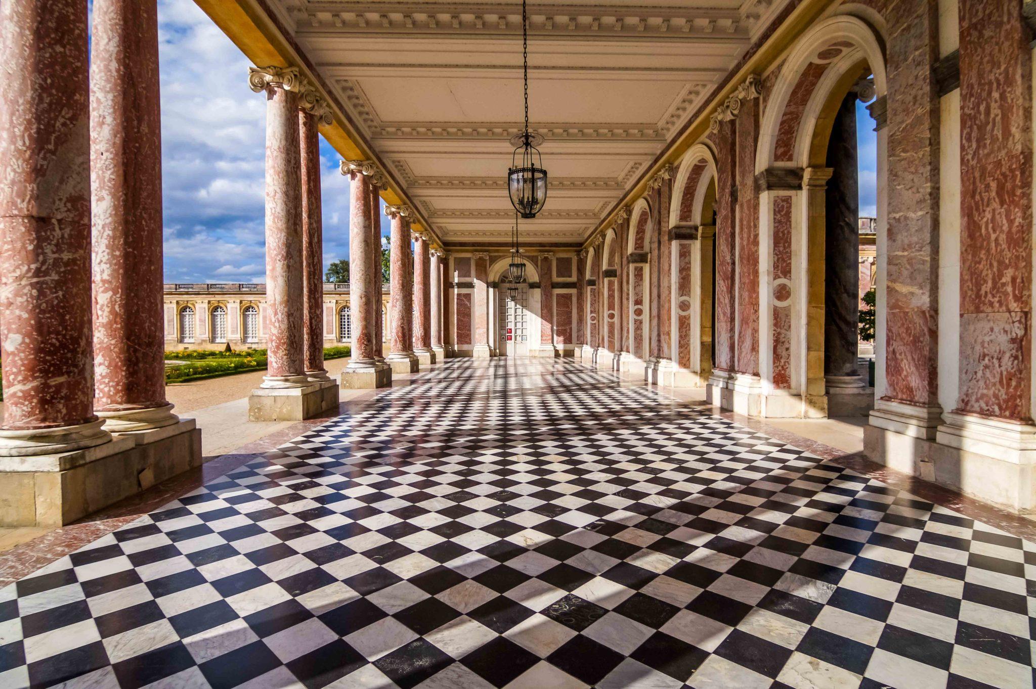 La loggia du Trianon du Château de Versailles