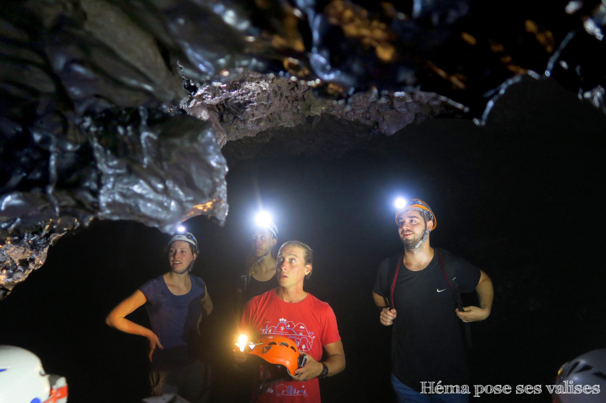 Découverte des tunnels de lave de La Réunion