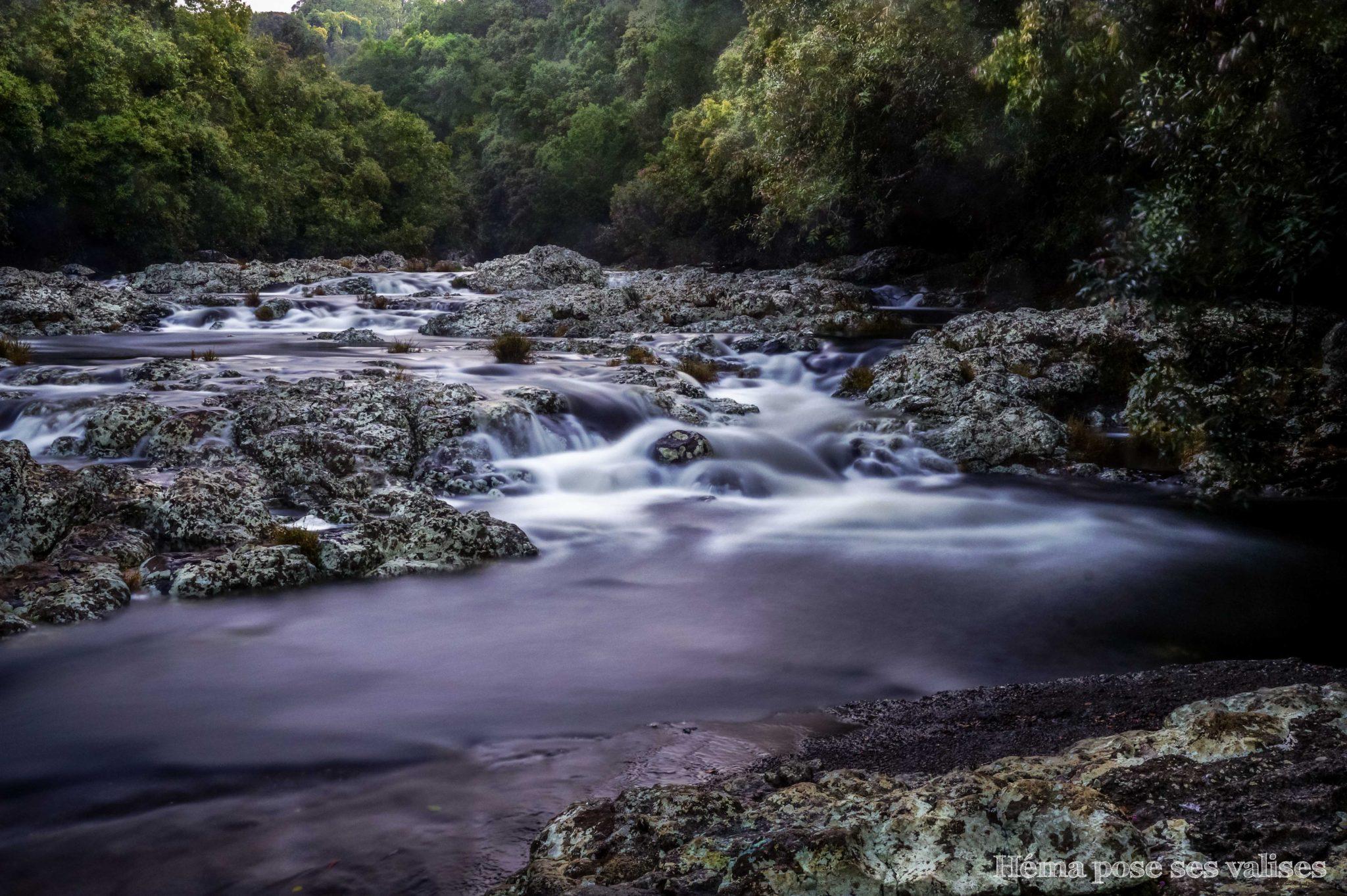 Cascades du bassin boeuf de La Réunion