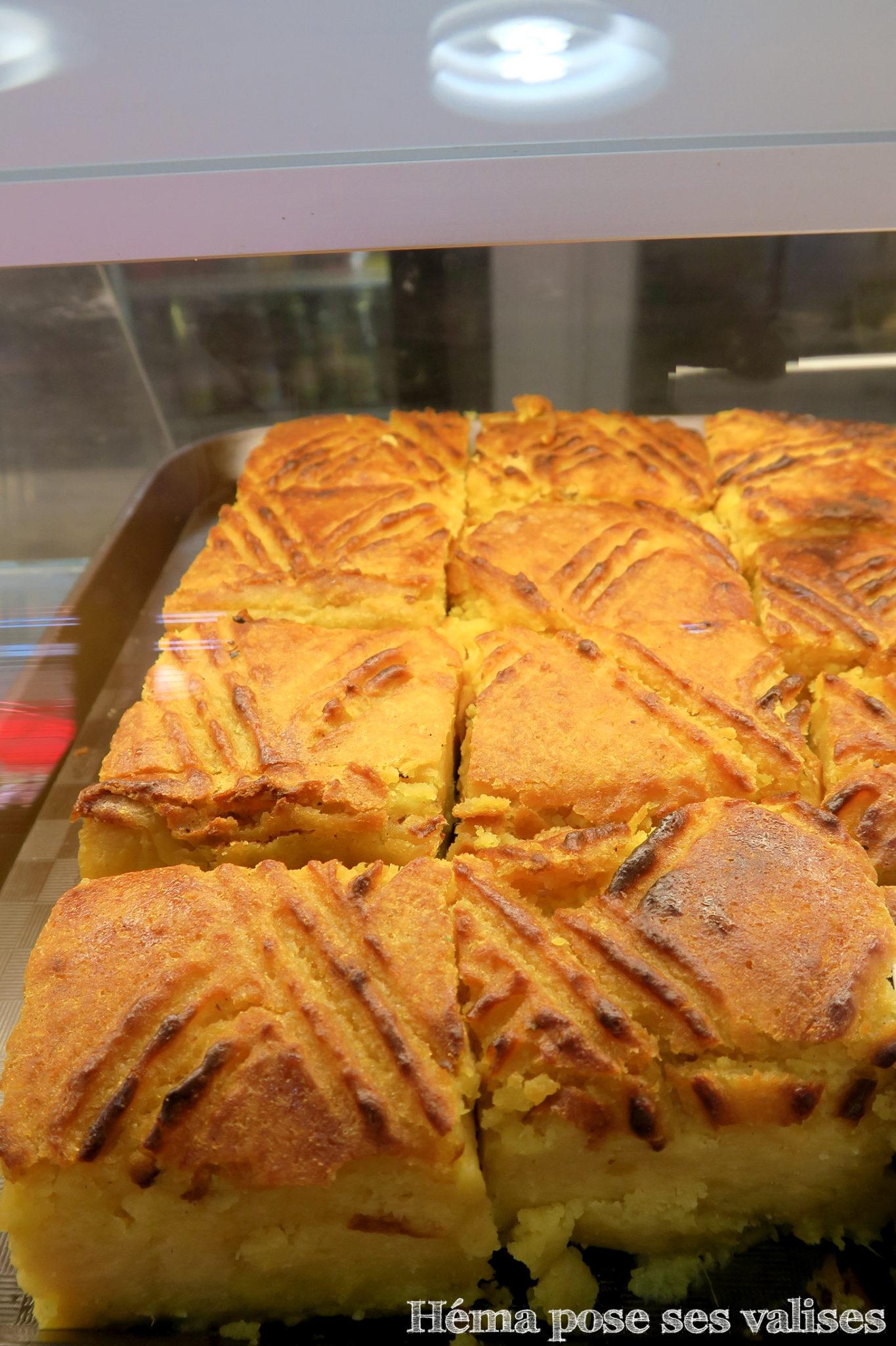 Dessert typique de l'Ile de La Réunion le gateau à la christophine
