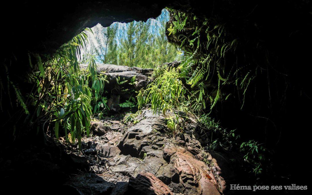 Spéléologie : visite des tunnels de lave à La Réunion