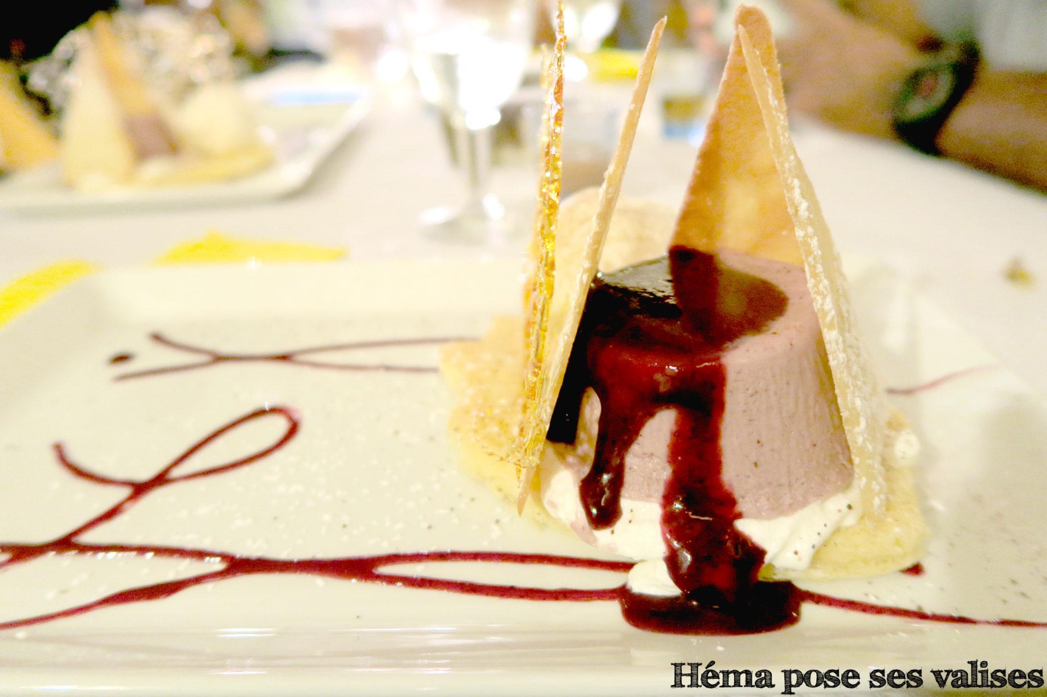 Dessert le piton de gadiamb du restaurant Le Gadiamb à Saint Denis à La Réunion