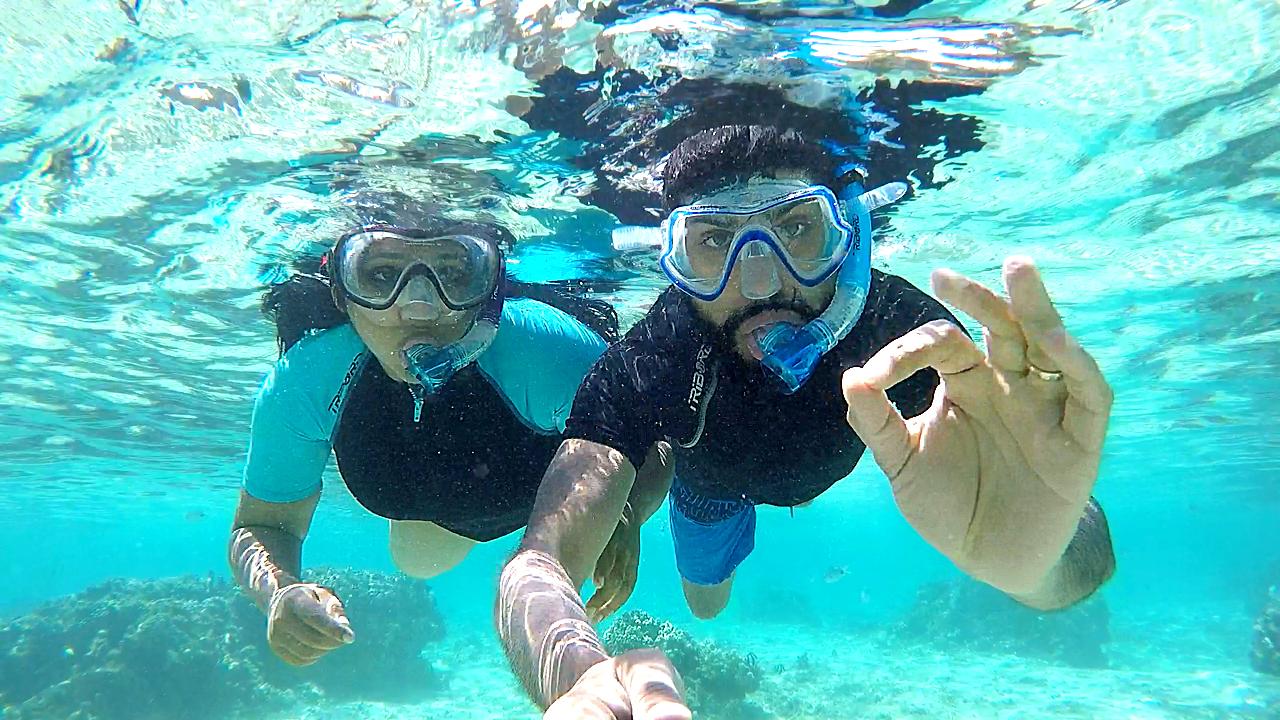Snorkeling à La Réunion