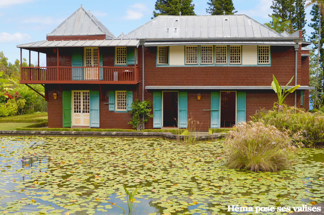 Villa du jardin botanique de l'observatoire mascareigne