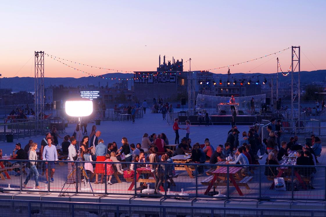 Soirées Rooftop à la Friche La Belle de Mai à Marseille
